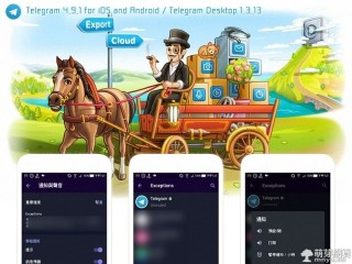 Telegram 4.9.1 for iOS and Android、Telegram Desktop 1.3.13 更新:聊天導出工具、更好的通知等