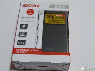 BUFFALO MiniStation Safe Hard drive 2TB USB3.0 行動硬碟