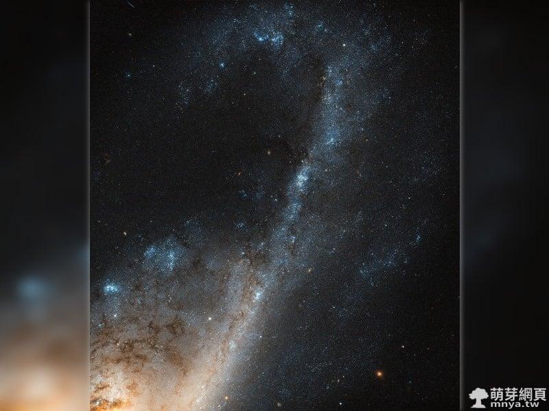 20170410 NGC 4536 處女座的星暴星系 - 萌芽地科網 - 萌芽網頁
