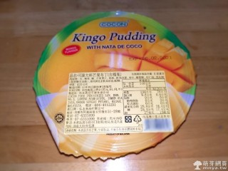 COCON Kingo Pudding 可康大杯芒果布丁(含椰果)